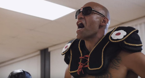 Jujo Ballo as Fo Sho in The Last Dragon Fan Film
