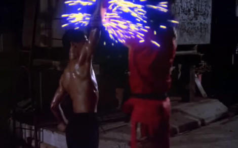 Bruce Leroy vs Shonuff Glow vs Glow Blue Sparks