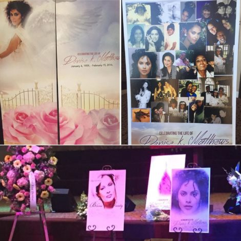 "Denise ""Vanity"" Matthews Celebration of Life Memorial Service February 2016"