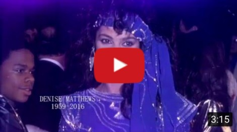 "Denise ""Vanity"" Matthews Memorial Video Tribute"