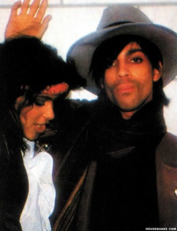Prince and Vanity dated in the 80s