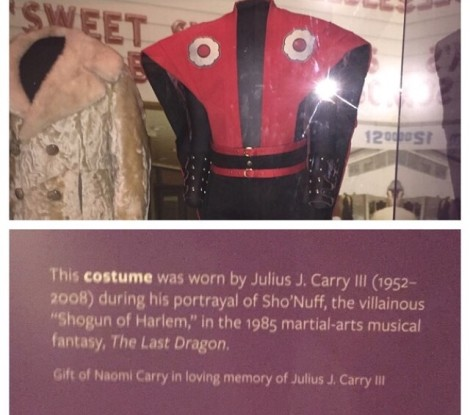 Shonuff Costume at Smithsonian
