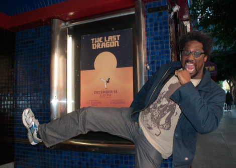 W Kamau Bell hosted The Last Dragon 30th Anniversary at the Roxie in San Fran Dec 18 2016