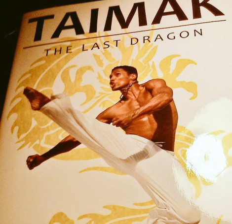 Taimak The Last Dragon Autobiography Cover