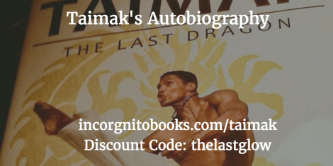 Taimak The Last Dragon Autobiography Discount Code