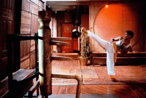 Bruce Leroy Kick Opening Scene The Last Dragon 1985