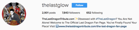 Follow @thelastglow on Instagram for your daily dose of the glow!