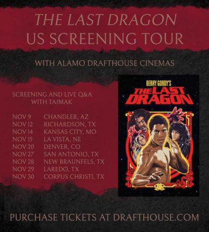 2017 The Last Dragon US Screening Tour